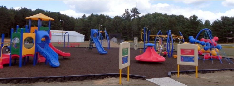 Mocha Brown Playground Cover, Standish, MI