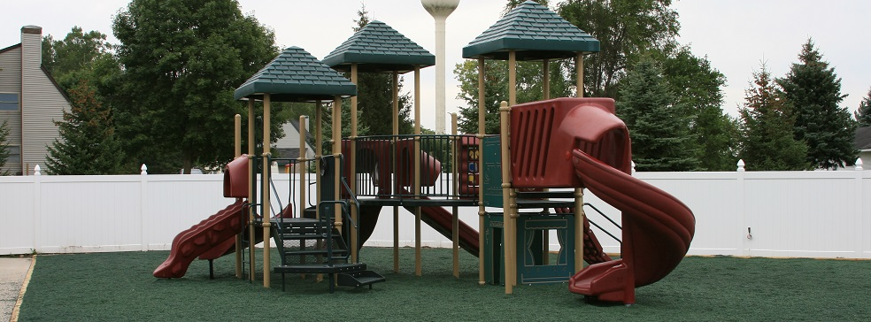 Emerald Green Playground Cover